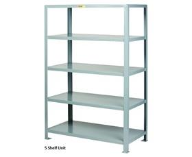 ALL-WELDED HEAVY-DUTY STEEL SHELVING