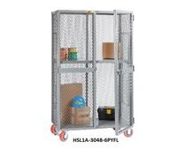 ALL-WELDED MOBILE STORAGE LOCKERS